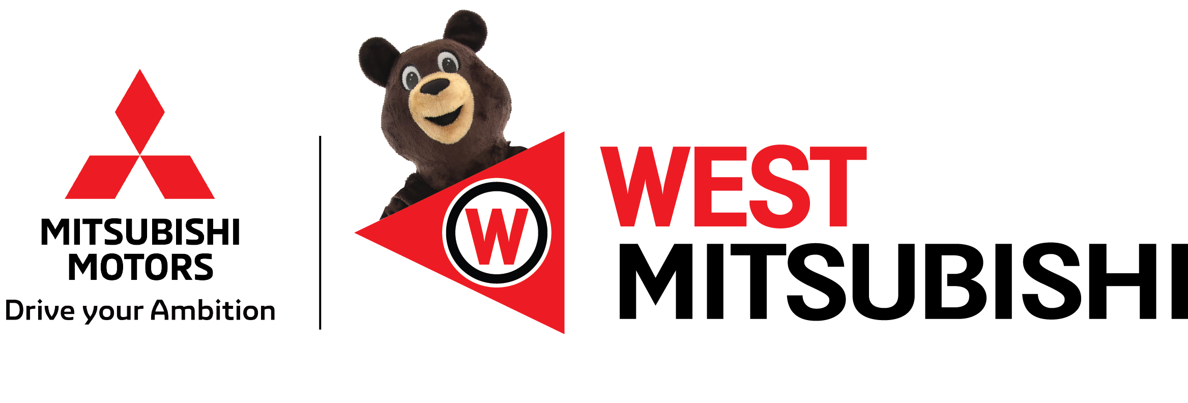 West Mitsubishi dealer logo